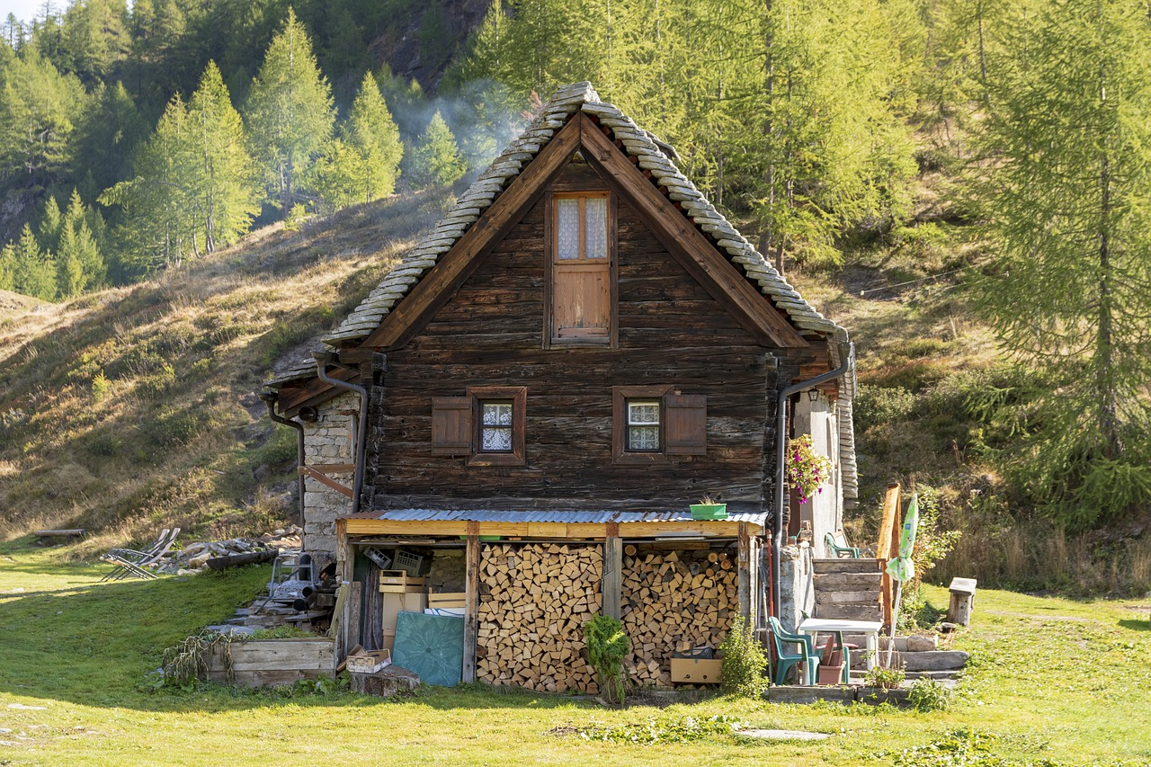 Cabin Mountain Hut Cottage House  - alessandra1barbieri / Pixabay