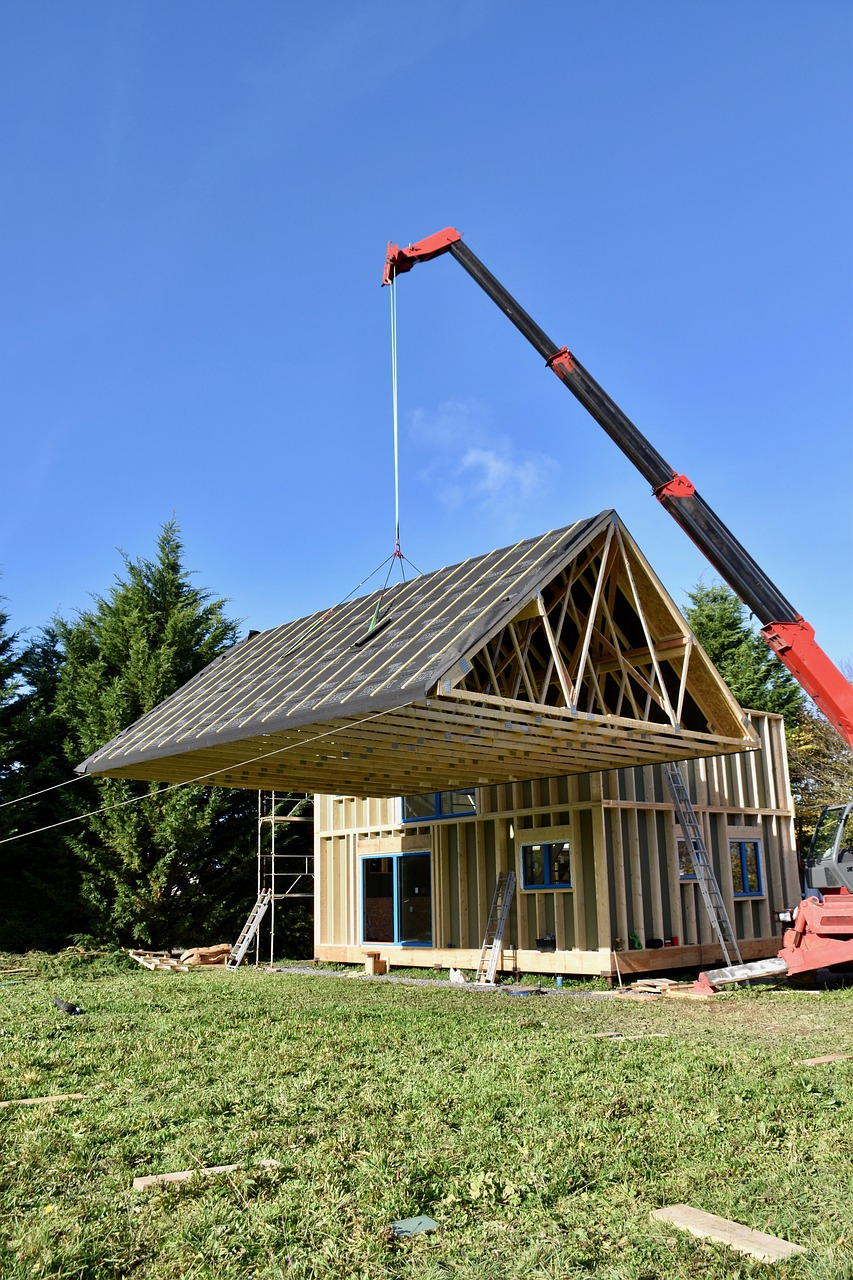 Construction House Building Crane  - JACLOU-DL / Pixabay